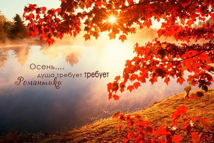 Статусы про осень короткие и красивые позитивные